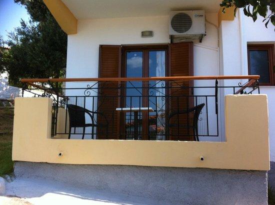 Eleni's Village: Balcony
