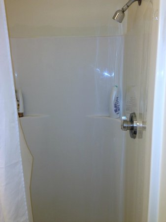 La Cappella Suites: shower, needs update