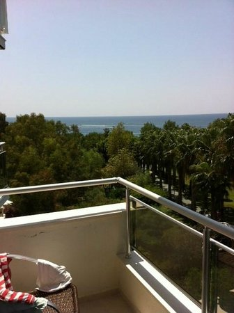Lycus Beach Hotel: VIew from the room