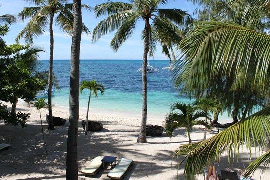 Ocean Vida Beach & Dive Resort: Stunning view from the balcony
