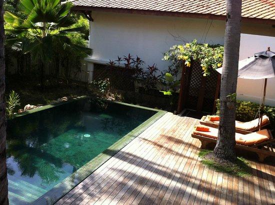 Belmond Napasai: garden pool villa
