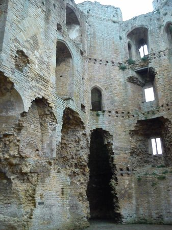 Nunney Castle: Inside the Castle