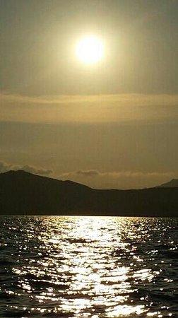 Club Hotel Baia Aranzos : tramonto...... wowwwwwe