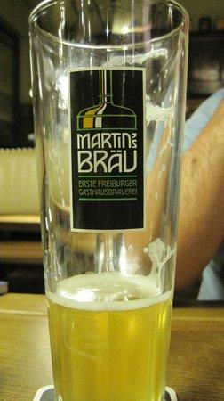 Martin's Bräu: immancabile