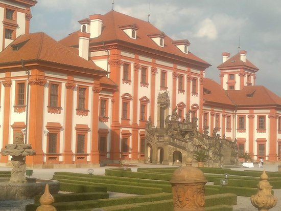 The troja chateau
