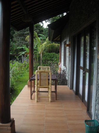 Khrisna Homestay: lovely terrace
