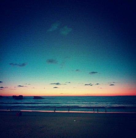 Le Windsor Grande Plage Biarritz : Sunset