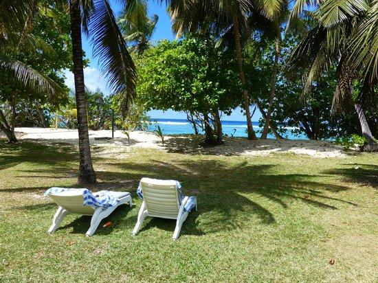 Chalets d'Anse Forbans : Vue notre chalet n° 5