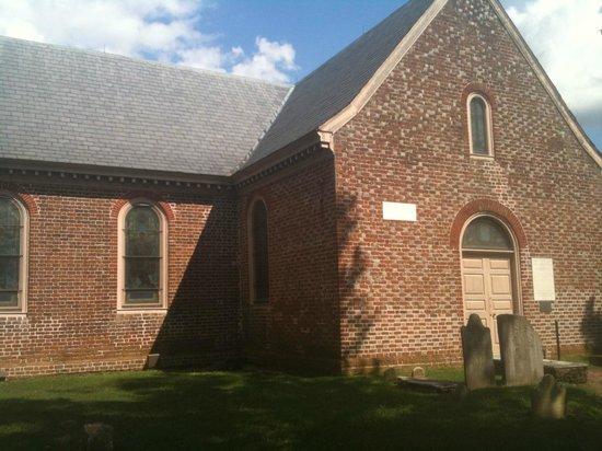 Blandford Church and Cemetery: the 1735 church