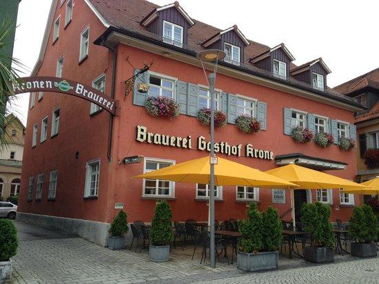 Krone Brauerei u. Gasthof: Outside