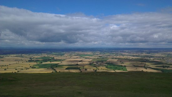 The Wrekin - superb view on a clear day.