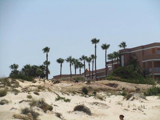 Hipotels Barrosa Park: Desde la playa