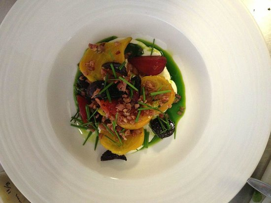 Thomas Corner Eatery: The Side of Beetroots
