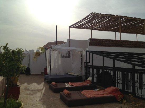 Riad Ka: terrazzo