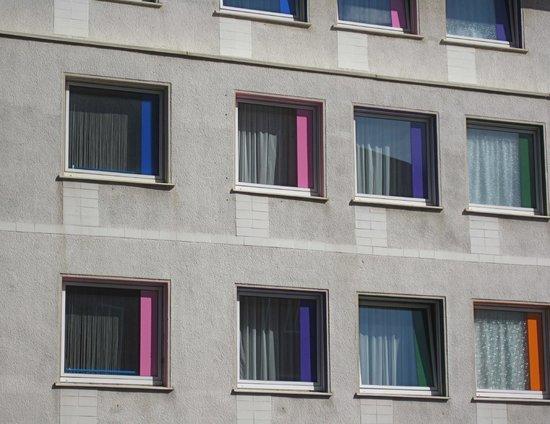 City Hotel Dortmund: Windows on the exterior