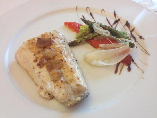 Restaurant La Vela : Lubina a la Donostiarra
