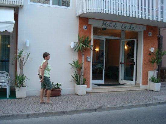 Hotel Erika: Hoteleingang