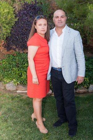 Restaurante Mirador de la Peana : Con mi mujer