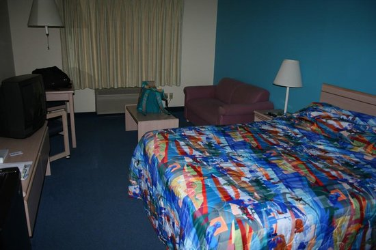 Motel 6 Seaside Oregon: camera