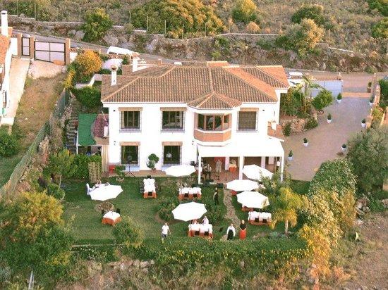 Restaurante Mirador de la Peana: Vista aerea