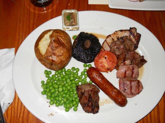 Wetherspoon's: Il mio piattone di cibo inglese