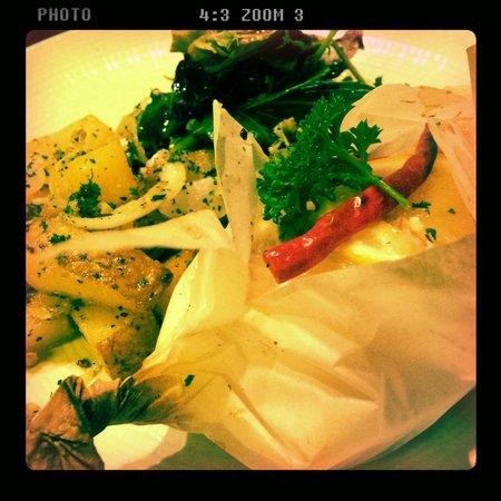 Canos Tapas Cocina: Salmon en papillote