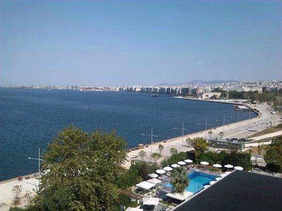 Makedonia Palace: καταπληκτική θέα..