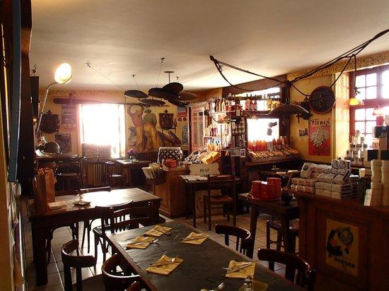 Au Gouter breton chez Tudal : intérieur
