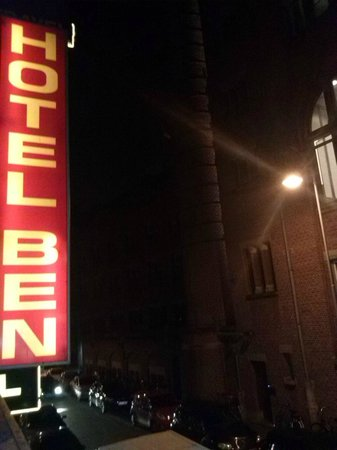 Hotel Ben: Vista dalla finestra
