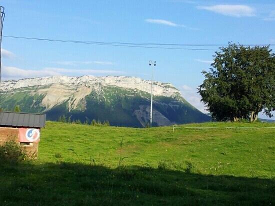 La Feclaz, ฝรั่งเศส: massif de Baughes