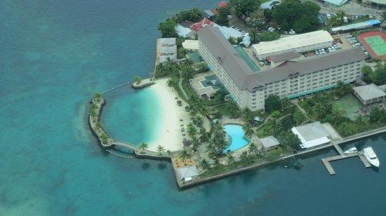 Palau Royal Resort: セスナ周遊での上空からの写真