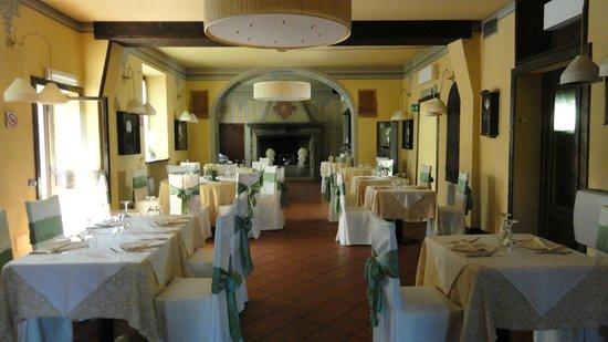 Tenimento al Castello: gepflegtes Ambiente im schönen Restaurant