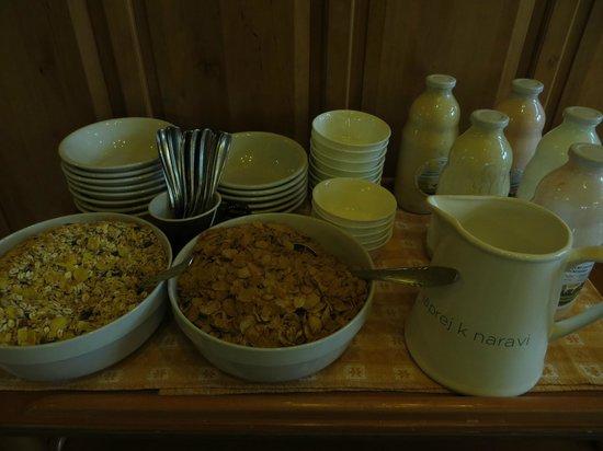 Hudicevec Tourist Farm: buffet colazione