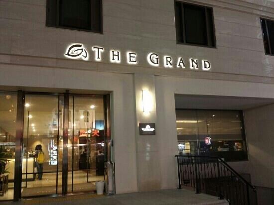 The Grand Hotel Myeongdong: facade