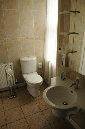 Creag Mhor Lodge : Het sanitair