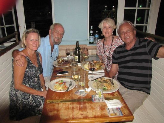Hook, Line & Sinker : Owners, Becky and Ted (left) with Fernando and Martha)