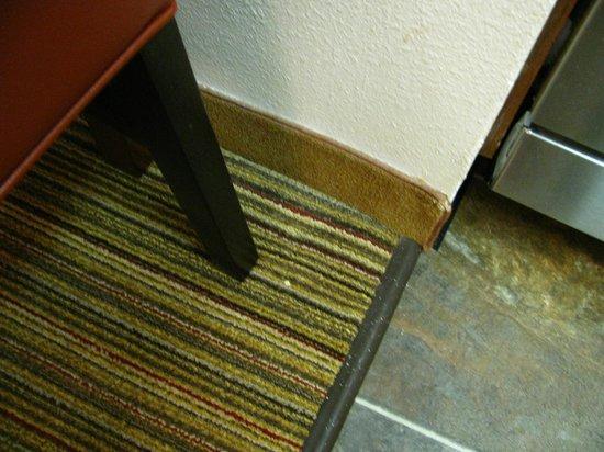 Residence Inn Atlanta Alpharetta/North Point Mall: Unidentified something on carpet near dining table