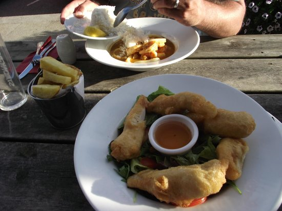 King's Arms: Great food