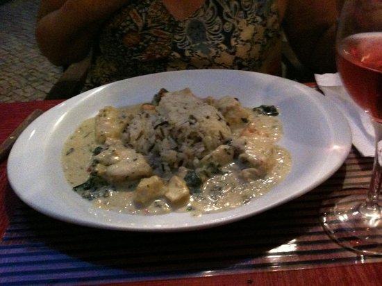 Restaurante Taberna do Chiado: een van de vele lekkere borden ….