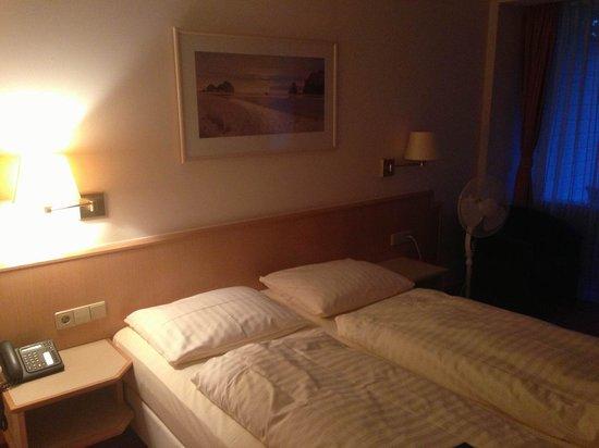 Parkhotel Am Posthof: Schlafbereich.