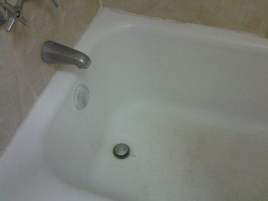 EconoLodge & Conference Center: nasty bathtub