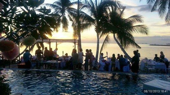 Tango Luxe Beach Villa : a perfect setting for a wedding