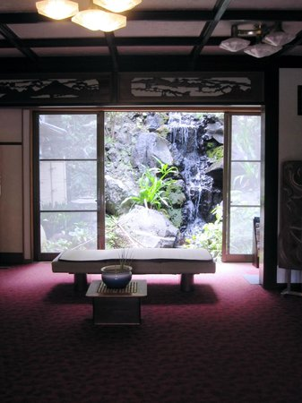 Yokikan: reception area