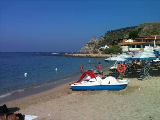 Hotel Residence Costa Azzurra: spiaggia Grotticelle - capo vaticano