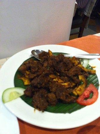 Grand Hotel Restaurant: Dry beef