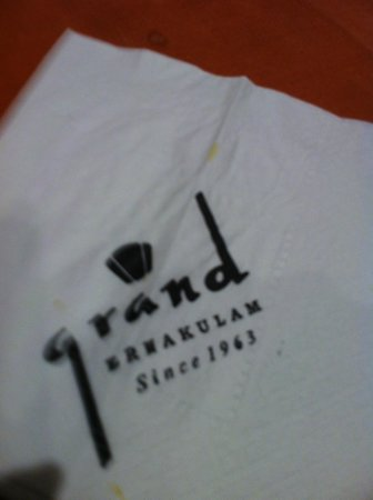 Grand Hotel Restaurant: Grand