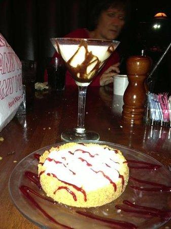 Jameson's Charhouse: key lime pie...
