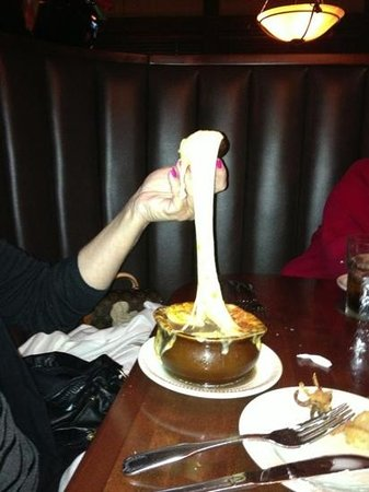 Jameson's Charhouse: French onion soup!!!! OMG !!