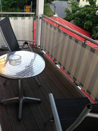 Hotel Krone Ettenkirch: Balkon für zwei.