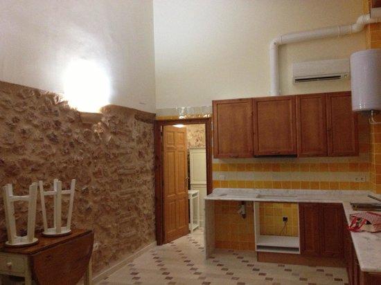 Hotel Casa Babel: Cocina